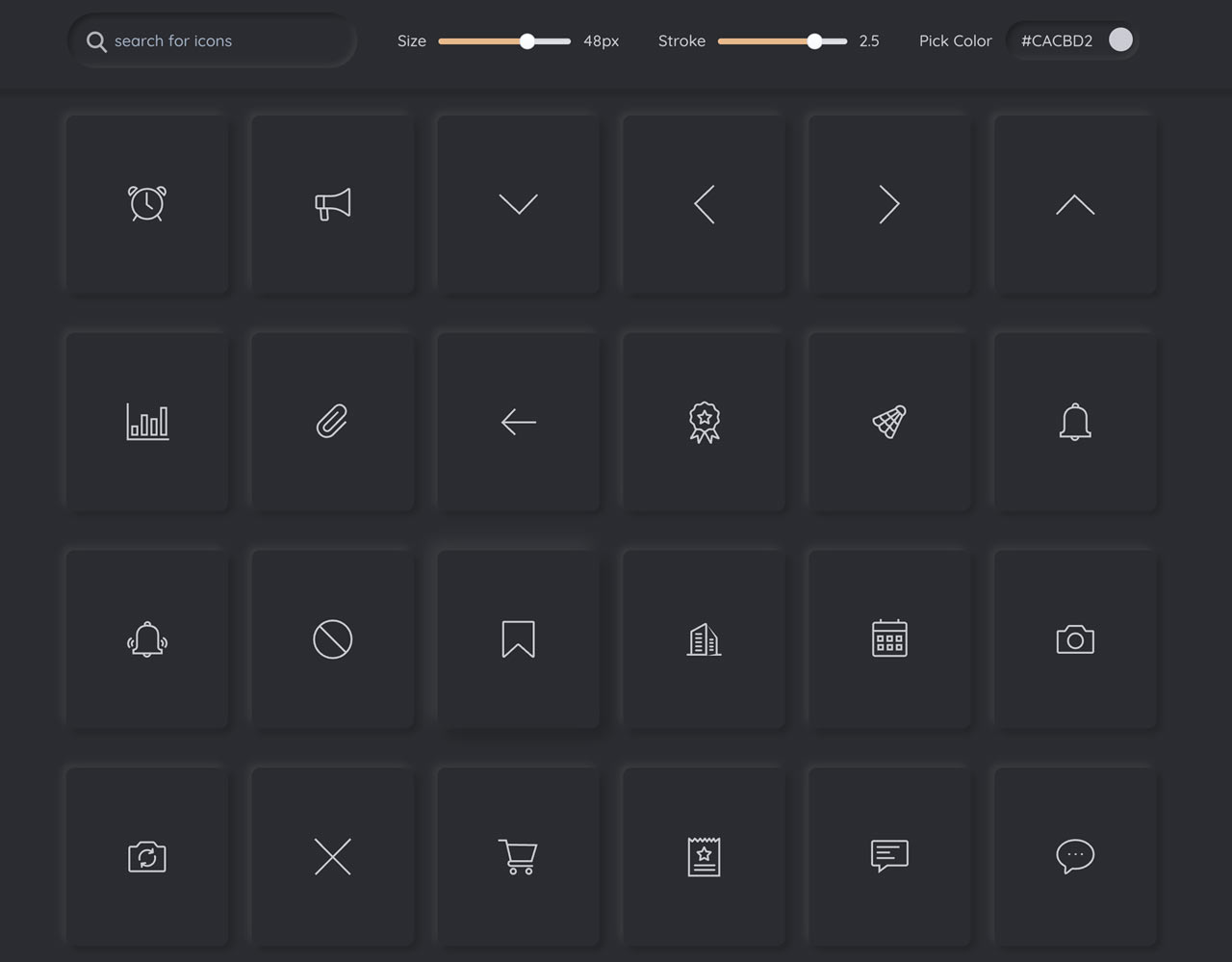 Forge Icons