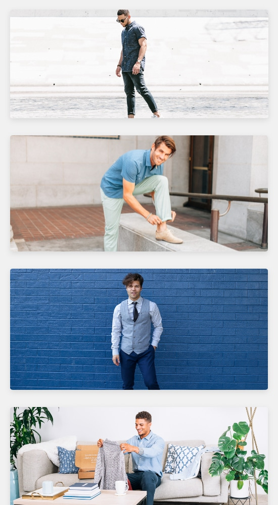 Clothing Rental & Personalized Fashion Subscription | The Mr