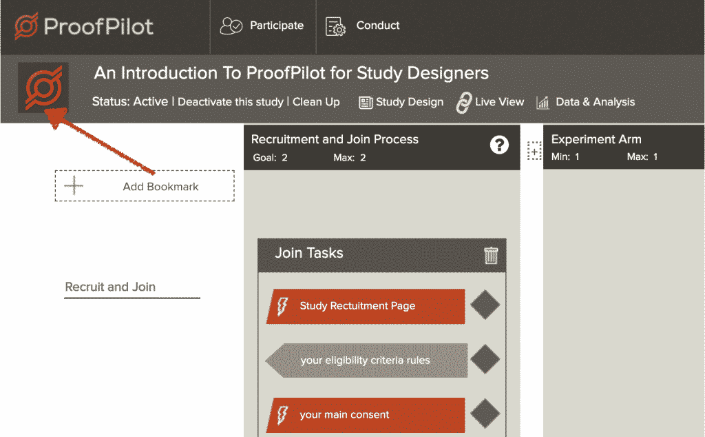 ProofPilot Adding a Study Logo and Why it is Important