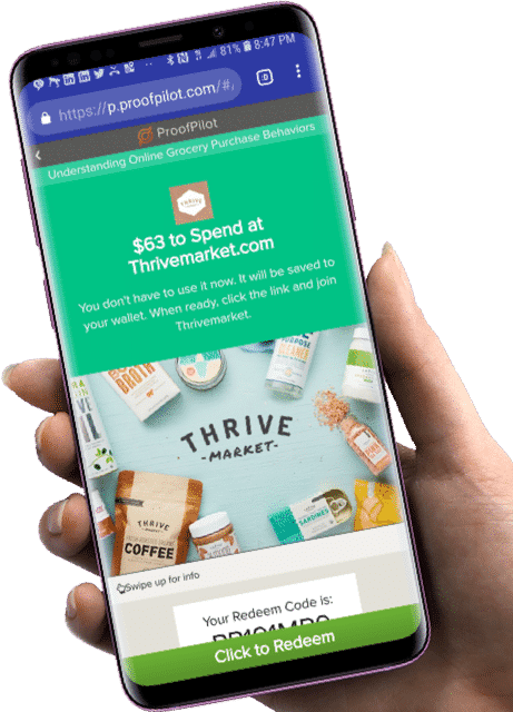 thrive reward