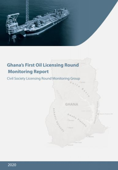 Ghana's First Oil Licensing Round Monitoring Report