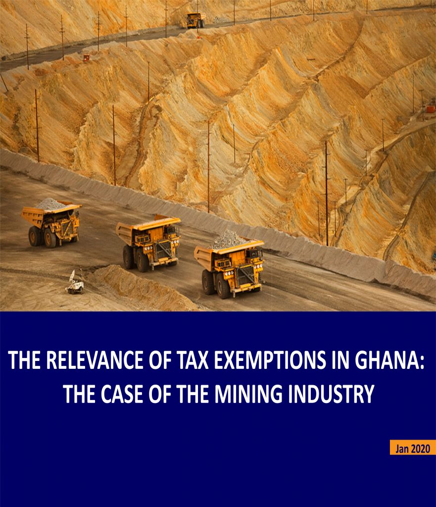 The Relevance of Tax Exemptions in Ghana: the Case of the Mining Industry