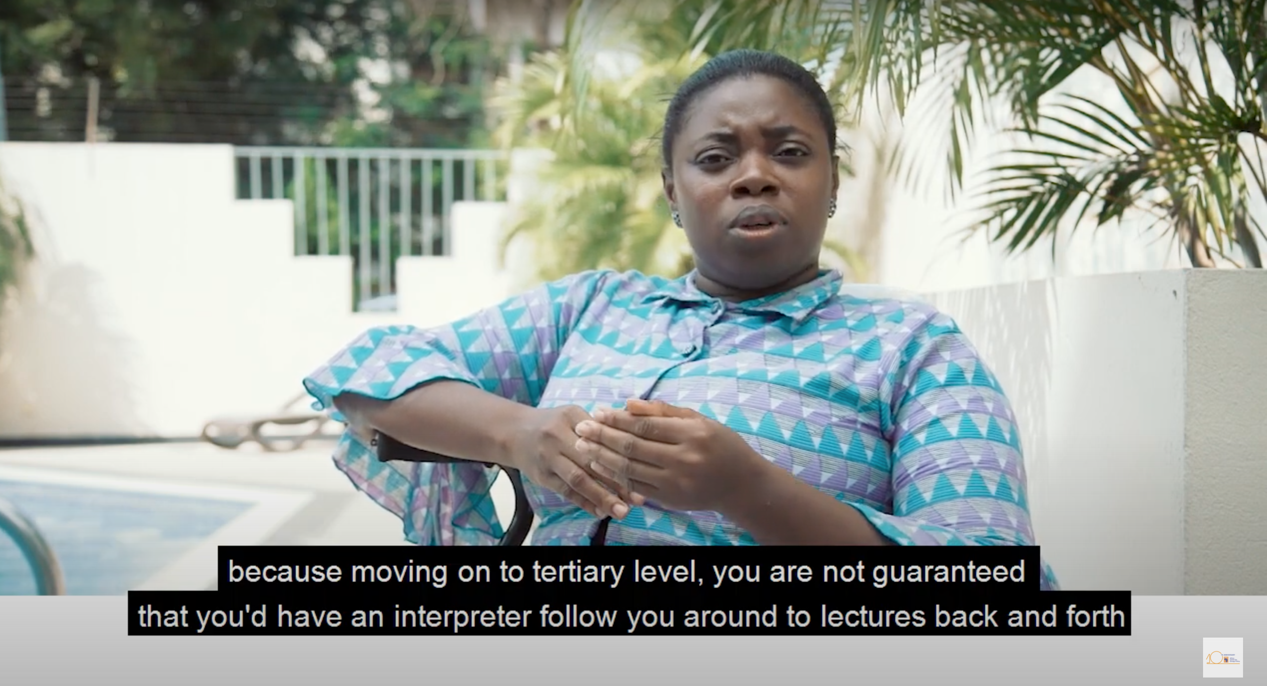 Some Socioeconomic Challenges Facing PWDs - An ACEP Documentary 2019