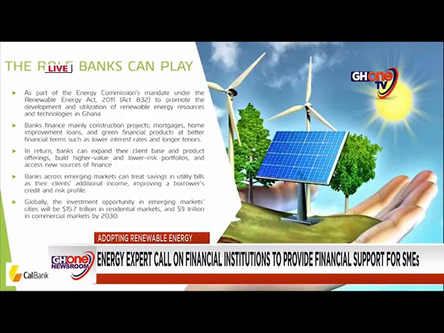 ACEP-GIZ Ghana Stakeholder Engagement On Renewable Energy Adoption By SME's In Ghana - News Report On GhOne TV