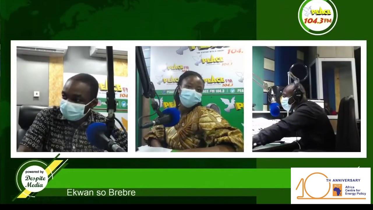 ACEP Speaks On Energy Efficiency & Conservation On Ekwan So Brebre On Peace FM
