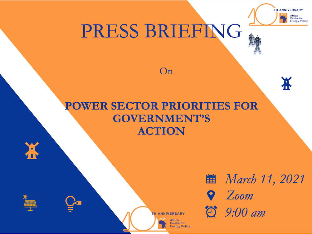 ACEP's Press Briefing On Power Sector Priorities For Government's Action FINAL