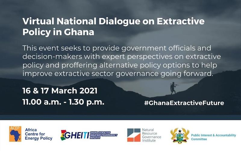 National Dialogue On Extractive Policy In Ghana