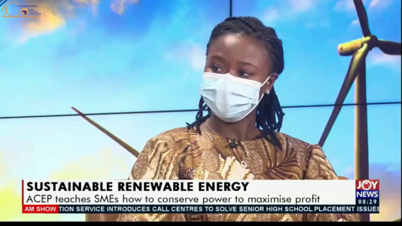 ACEP Speaks On Energy Efficiency & Conservation On The AM Show - Joy News