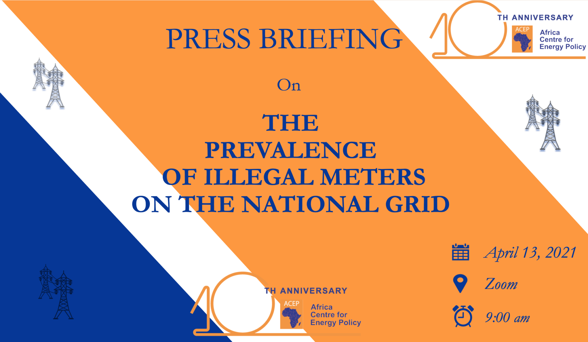 ACEP Press Briefing On Prevalence Of Illegal Meters