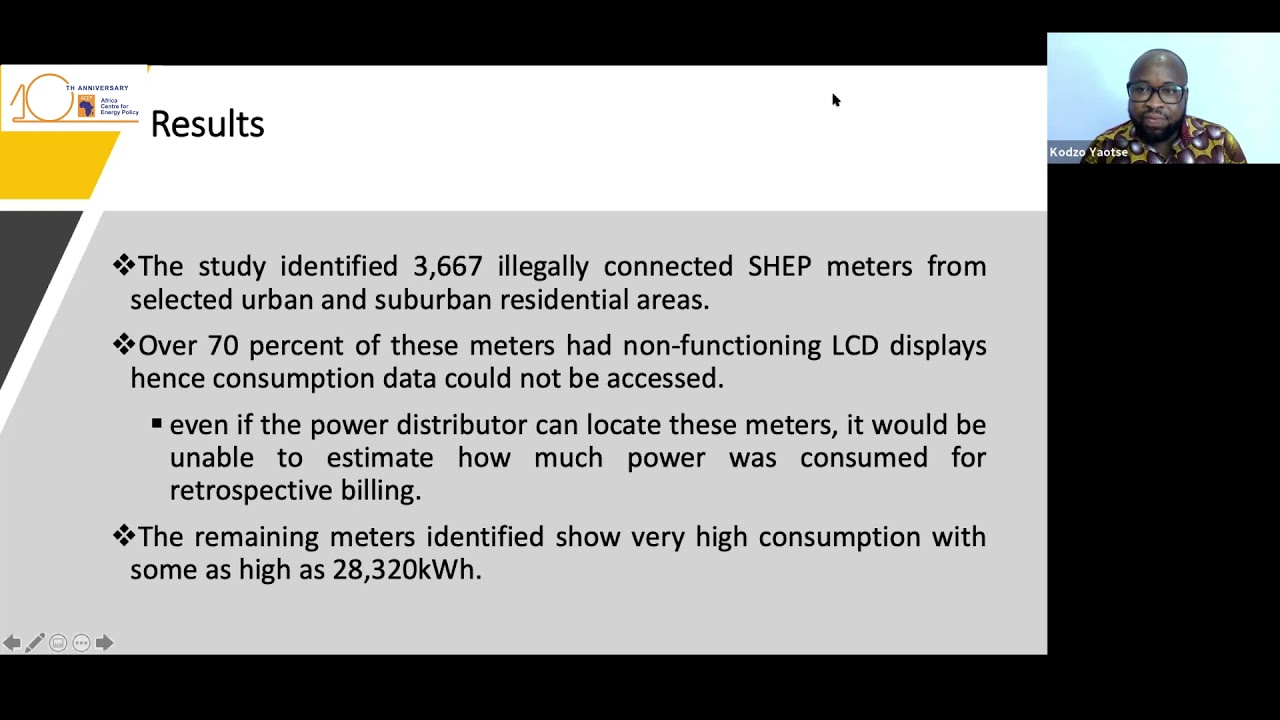 Press Briefing On The Prevalence Of Illegal Meters On The National Grid