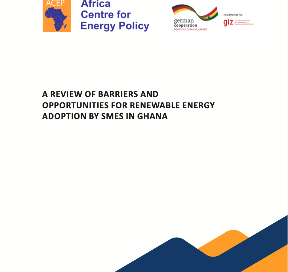 ACEP_newsletter_A Review Of Barriers And Opportunities For Renewable Energy Adoption By Smes In Ghana copy