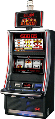 Bally Blazing 7 Game Slot Machine