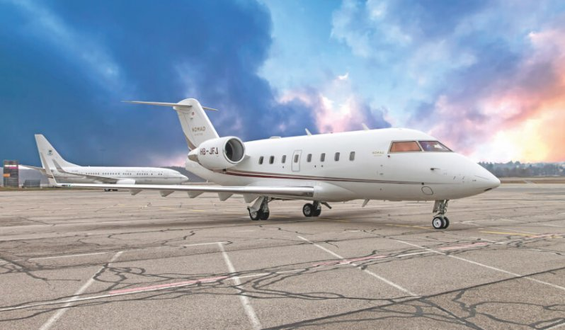 buy a challenger 604 plane