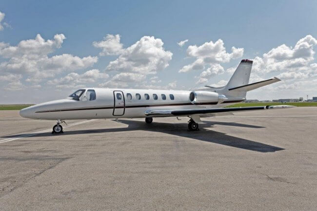 Hopkinson Aircraft Sales Cessna Citation Ultra