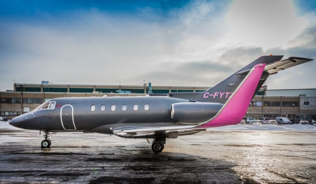 purchase a used Hawker 800xp aircraft
