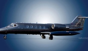 1987 Learjet 35A, SN630, N388PD - Ext LS View RGB