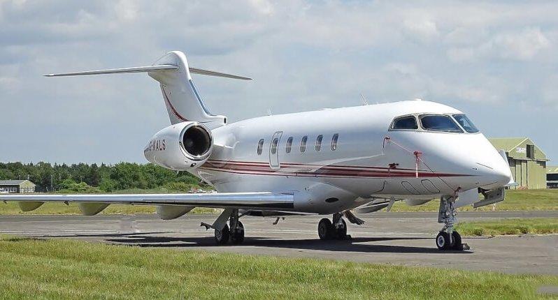 Challenger 300 aircraft