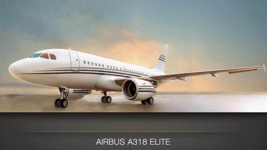 Airbus A318 Elite photo