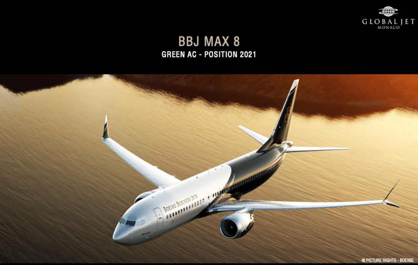 Boeing BBJ Max 8 photo