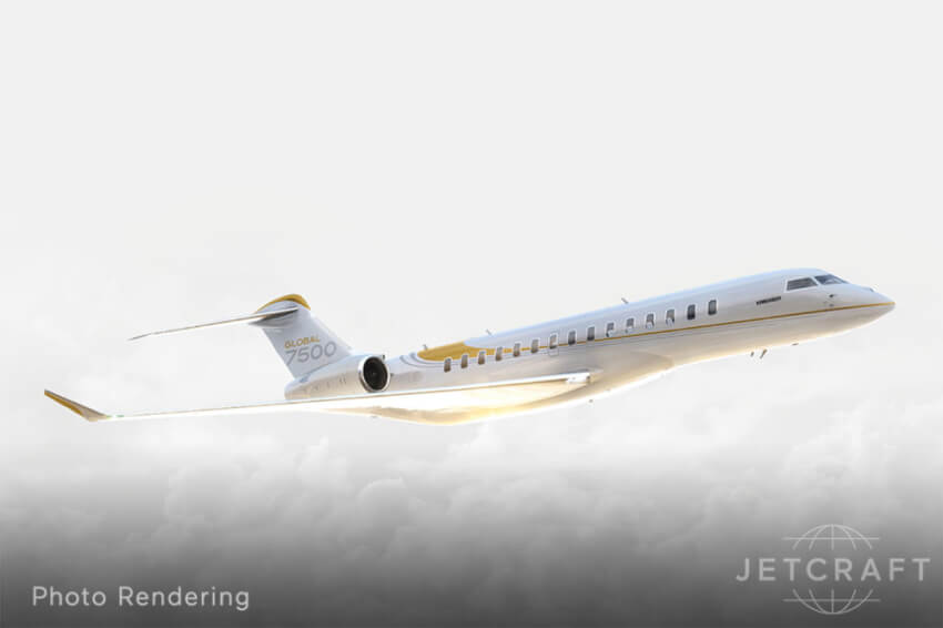Early Global 7500 Position photo