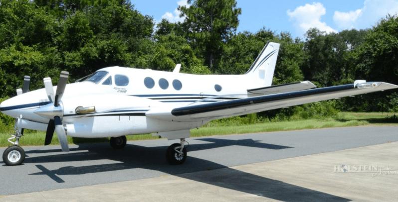 King Air C90b plane