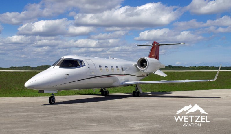 Learjet 60 private jet for sale