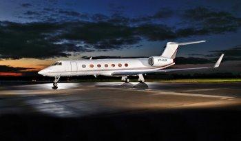 OGARAJETS Gulfstream G550 Aircraft cabin