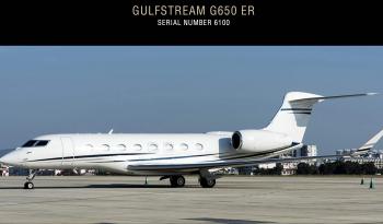 Gulfstream G650 jet for sale