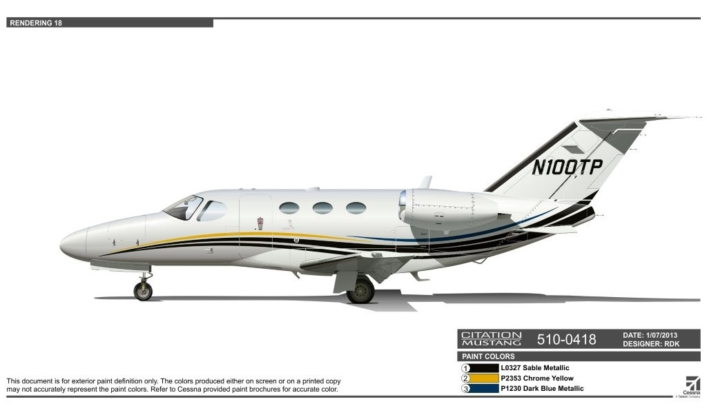 Citation Mustang For Lease photo