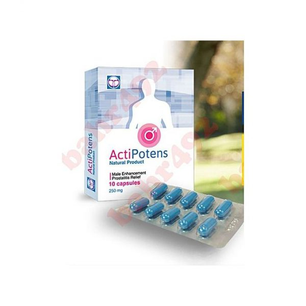 This is an image for this product - ActiPotens Natural Male Enhancement - Jumia Kenya. This product is available for purchase from Jumia Kenya and is sold by Elsa Collection 254.