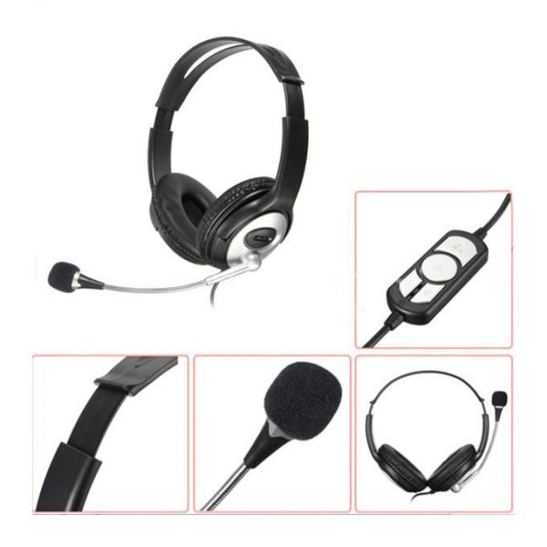 This is an image for this product - Generic USB Stereo Headphone Gaming Headset Earphone with MIC for PC Laptop Notebook - Jumia Kenya. This product is available for purchase from Jumia Kenya and is sold by Explorer.