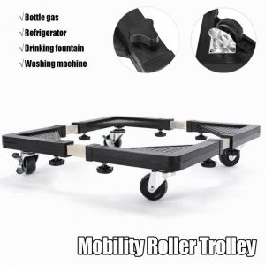 This is an image for this product - Generic HEAVY APPLIANCE Wheels Mobility Roller Trolley Washing Machine Stand Fridge Base 255-355mm - Jumia Kenya. This product is available for purchase from Jumia Kenya and is sold by High World.