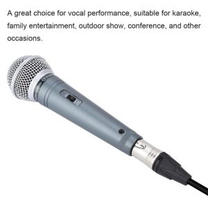 This is an image for this product - Generic (Extra 20% Off)Qianmei Handheld Professional Wired Microphone Clear Voice for Karaoke Vocal Music Performance - Jumia Kenya. This product is available for purchase from Jumia Kenya and is sold by Soquare.