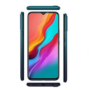 This is an image for this product - Infinix Hot 8 (3G) - 5000Mah - 32GB - 2GB RAM - 8MP- Dual Sim - Quetzal Cyan - Jumia Kenya. This product is available for purchase from Jumia Kenya and is sold by Asra Mobile.