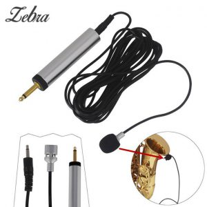 This is an image for this product - Zebra Professional Guitar Pickup Piezo Contact Microphone Head Clip On Pickup Condenser Mic For Guitar Violin Banjo Mandolin Ukulele - Jumia Kenya. This product is available for purchase from Jumia Kenya and is sold by One Dream.