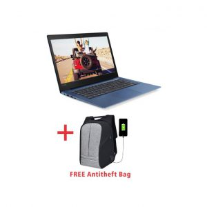 This is an image for this product - Lenovo Ideapad Mini-FULL VERSION Windows 10+McAfee LiveSafe Antivirus-Intel Celeron-4GB RAM-500GB HDD-Blue+FREE Anti-theft Bag - Jumia Kenya. This product is available for purchase from Jumia Kenya and is sold by Elcom Technologies.