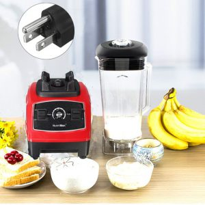 This is an image for this product - Generic 110V US PLUG RED 3HP BPA 2200W Commercial Home Smoothies Power Blender Food Mixer Fruit Processor - Jumia Kenya. This product is available for purchase from Jumia Kenya and is sold by BigBig World.