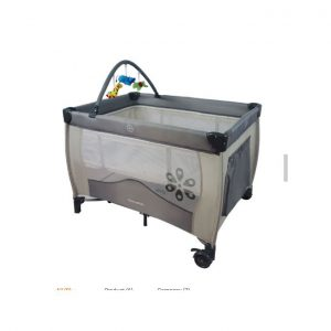 This is an image for this product - Mama Kids Baby Travel Cot, Foldable Playpen, Baby Crib - grey - Jumia Kenya. This product is available for purchase from Jumia Kenya and is sold by Kids paradise.