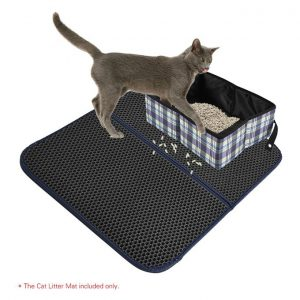 This is an image for this product - Generic Premium Cat Litter Trapper Mat Pad Larger Honeycomb with Waterproof Base Layer EVA Foam Rubber 72 * 55cm / 28 * 22in - Jumia Kenya. This product is available for purchase from Jumia Kenya and is sold by TOMTOP.