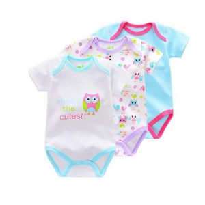 This is an image for this product - Generic 3 Piece Set Cotton Infant Body Suit  - Multicolour - Jumia Kenya. This product is available for purchase from Jumia Kenya and is sold by BEAR & CUBS HAVEN.