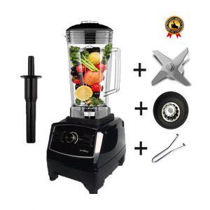 This is an image for this product - Generic BPA Free 3HP Heavy Duty Commercial Blender Mixer High Power Food Processor Ice Smoothie Bar Fruit Electric Blender(Black full parts) - Jumia Kenya. This product is available for purchase from Jumia Kenya and is sold by WangQ Shop.