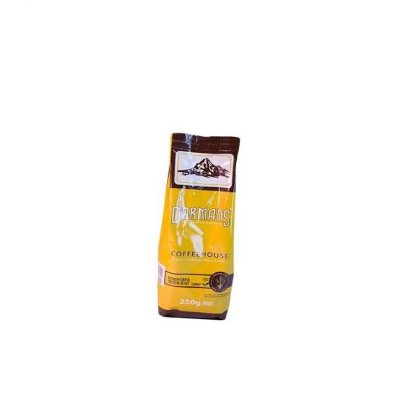 This is an image for this product - Dormans Coffeehouse Medium/Medium - 250g - Jumia Kenya. This product is available for purchase from Jumia Kenya and is sold by Carrefour.