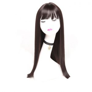 This is an image for this product - Generic Wonder Girl Glueless Lace Front Human Hair Wigs For Women Pre Plucked Straight Lace Wig With Baby Hair Non Remy - Brown - Jumia Kenya. This product is available for purchase from Jumia Kenya and is sold by Hyshine.