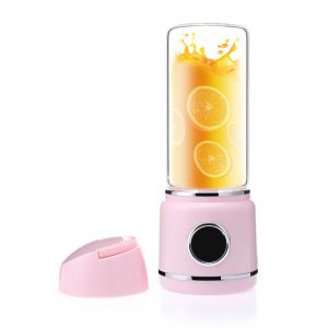 This is an image for this product - Generic LED mini portable blender home mixer small multi function electric cup juicer usb licuadora juice smoothie blendershine(Pink) - Jumia Kenya. This product is available for purchase from Jumia Kenya and is sold by WangQ Shop.