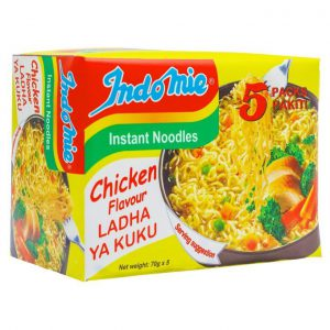 This is an image for this product - Indomie Chicken Noodles - 70g (Pack of 5) - Jumia Kenya. This product is available for purchase from Jumia Kenya and is sold by Carrefour.