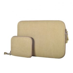 This is an image for this product - Generic 11.6 inch Denim Fashion Zipper Linen Waterproof Sleeve Case Bag for Laptop Notebook, with A Small Bag for Mouse(Khaki) - Jumia Kenya. This product is available for purchase from Jumia Kenya and is sold by WTYD.