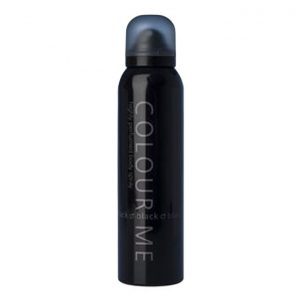 This is an image for this product - Colour Me Black Body Spray For Men – 150ml - Jumia Kenya. This product is available for purchase from Jumia Kenya and is sold by Giga Distribution Limited.