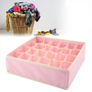 This is an image for this product - Generic 24 Girds Collapsible Underwear Bra Organizer Storage Box Drawer Closet Organizer Box For Underwear Scarfs Socks Bra - Jumia Kenya. This product is available for purchase from Jumia Kenya and is sold by Heoduct.