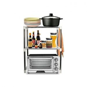 This is an image for this product - Generic Microwave Oven Shelf (Multi Function Telescopic Framework) - Jumia Kenya. This product is available for purchase from Jumia Kenya and is sold by Quality Supplier.