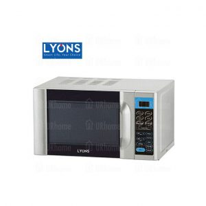 This is an image for this product - Lyons D4 - Digital Microwave Oven Grill Function - 20L Silver 1200W - Jumia Kenya. This product is available for purchase from Jumia Kenya and is sold by Lyons Home Appliances.